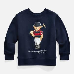 Polo Ralph Lauren Boys' Bear Sweatshirt - Cruise Navy