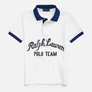 Polo Ralph Lauren Boys' Logo Polo Top - White Multi
