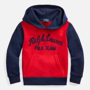 Polo Ralph Lauren Boys' Logo Team Hoody - Polo Sport Red
