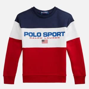 Polo Ralph Lauren Boys' Long Sleeved Top - Red