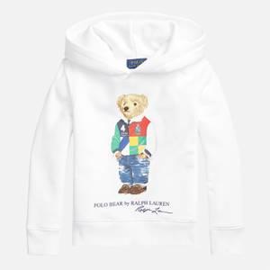 Polo Ralph Lauren Boys' Long Sleeved Hooded Top - White
