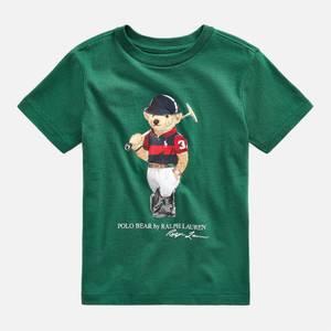 Polo Ralph Lauren Boys' Bear T-Shirt - Stuart Green