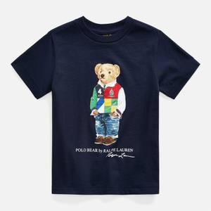 Polo Ralph Lauren Boys' Bear T-Shirt - Cruise Navy