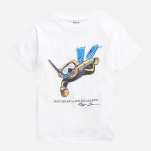 Polo Ralph Lauren Boys' Short Sleeved T-Shirt - White
