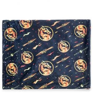 Mortal Kombat Fleece Blanket