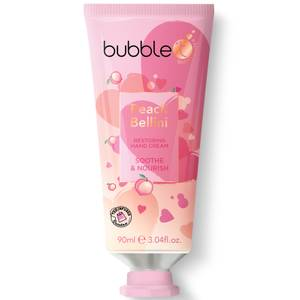 Bubble T Hand Cream Peach Bellini