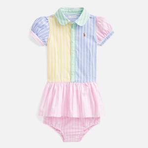 Polo Ralph Lauren Baby Oxford Shirt-Dress - Multi