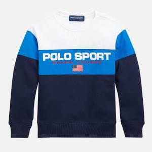 Polo Ralph Lauren Girls' Logo Sweatshirt - White