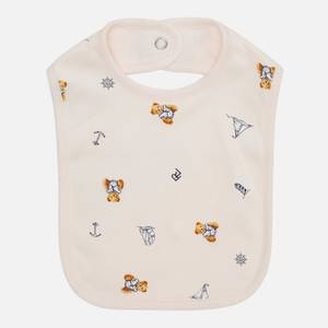 Polo Ralph Lauren Girls' Printed Bib - Pink - One Size