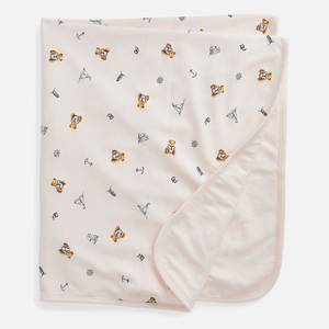 Polo Ralph Lauren Girls' Printed Blanket - Pink - One Size
