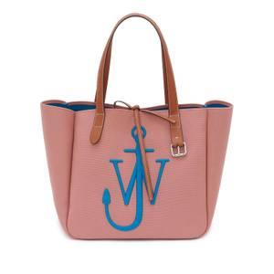 JW Anderson Women's Belt Tote Bag - Pink/Blue