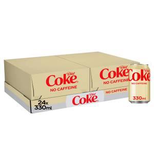 Diet Coke Caffeine Free 24 x 330ml