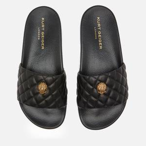 Kurt Geiger London Women's Meena Eagle Slide Sandals - Black