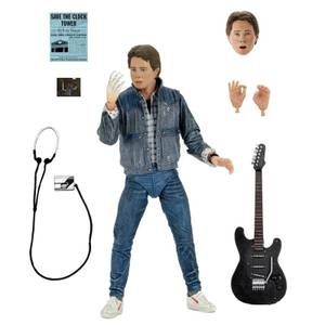 NECA Back to the Future Marty McFly 1985 Guitar Audition Ultimate 7 Inch Scale Action Figure