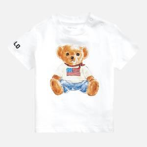 Polo Ralph Lauren Boys' Bear T-Shirt - White