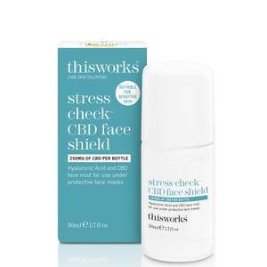 this works Stress Check CBD Face Shield