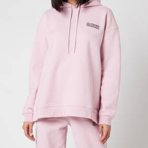 Ganni Women's Software Isoli Hooded Sweatshirt - Sweet Lilac