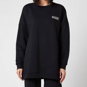 Ganni Women's Software Isoli Oversized Sweatshirt - Black
