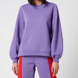 Ganni Women's Software Isoli Sweatshirt - Deep Lavender