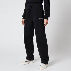 Ganni Women's Software Straight Leg Trackpants - Black