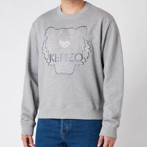 KENZO Men's Icon Sweatshirt - Pearl Grey - XXL