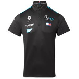 2021 Men's Black Team Polo Shirt