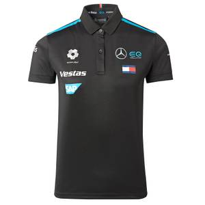 2021 Women's Black Team Polo Shirt
