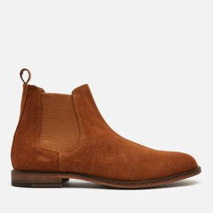 Walk London Men's Carter Suede Chelsea Boots - Tan