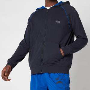 BOSS Loungewear Men's Mix&Match Zip-Up Hoodie - Dark Blue