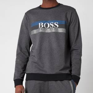 BOSS Loungewear Men's Authentic Sweatshirt - Dark Grey