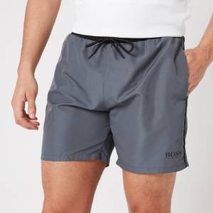 BOSS Swimwear Men's Starfish Swimshorts - Open Grey