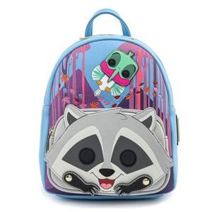 Pop By Loungefly Disney Pocahontas Meeko Flit Earthday Cosplay Mini Backpack