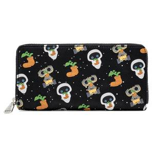 Pop By Loungefly Pixar Earthday Wall-E AOP Zip Around Wallet