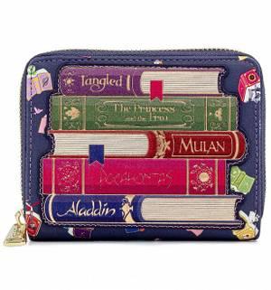 Loungefly Disney Portefeuille AOP Livres Princesses
