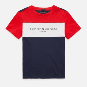 Tommy Hilfiger Boys' Essential Colorblock T-Shirt - Navy