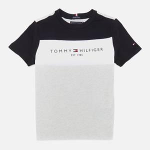Tommy Hilfiger Boys' Essential Colorblock T-Shirt - Light Grey Heather