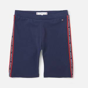 Tommy Hilfiger Girls' Essential Cycling Shorts - Navy