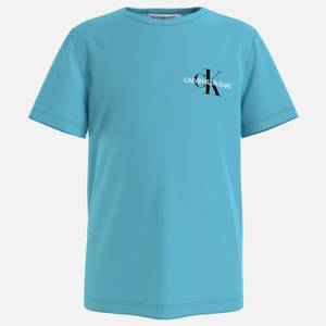 Calvin Klein Jeans Boy's Chest Monogram Top - Bright Sky