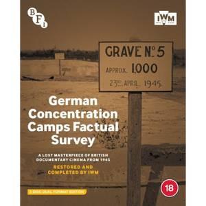 German Concentration Camps Factual Survey - Dual Format Edition