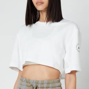 adidas by Stella McCartney Women's Asmc Future Playground Crop T-Shirt - White
