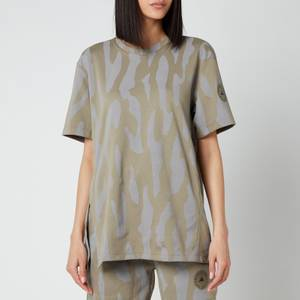 adidas by Stella McCartney Women's Asmc Future Playground T-Shirt - Clay/Dove Grey
