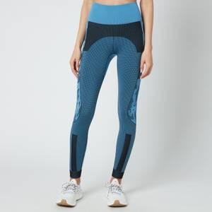 adidas by Stella McCartney Women's Asmc Truepurpose Seamless Tights - Blue/Black