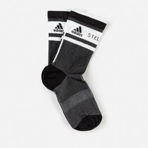 adidas by Stella McCartney Women's Asmc Crew Socks - Black/White