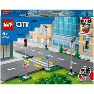 LEGO® City: Straßenkreuzung mit Ampeln (60304)