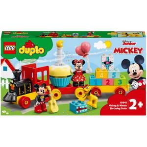 LEGO DUPLO Disney : Le train d'anniversaire de Mickey et Minnie (10941)