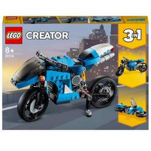 LEGO Creator: 3 in 1 Superbike Building Set (31114)