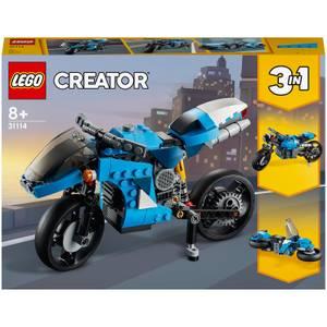 LEGO Creator: 3 in 1 Superbike Building Set (31114)