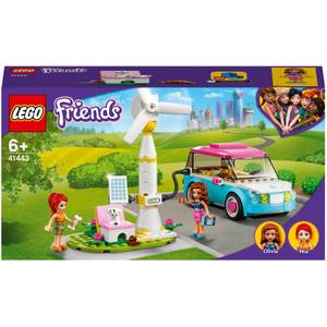 LEGO Friends: Olivia's Electric Car Toy Eco Playset (41443)