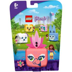 LEGO® Friends: Il cubo del Fenicottero di Olivia (41662)