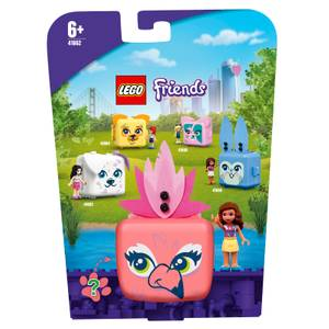 LEGO Friends: Olivia's Flamingo Cube Set Series 4 (41662)